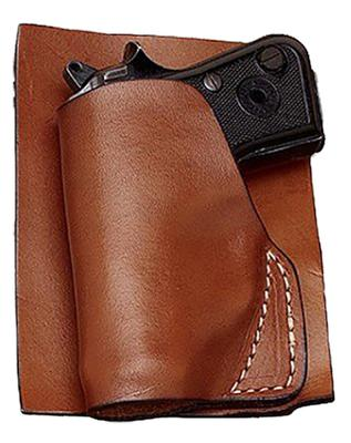 POCKET RUGER LCP 380 LEATHER BROWN