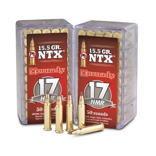 17HMR NTX 15.5 GRAINS LEAD FREE