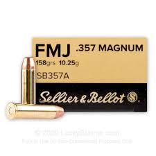 357MAG 158GR FMJ