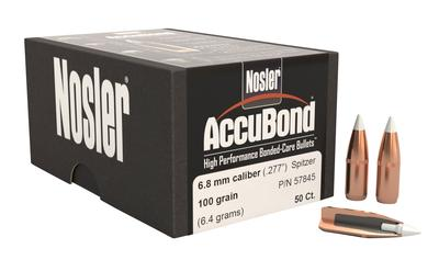 6.8MM ACCUBOND 100GR W/CANNELURE