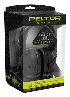 SPORT TACTICAL 300 ELECTRONIC 24 DB BLACK