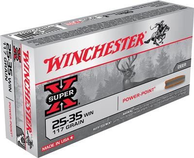 25-35WIN SUPER-X 117GR POWER POINT