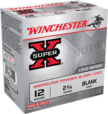 12GA SUPER-X FIELD BLANK 23/4