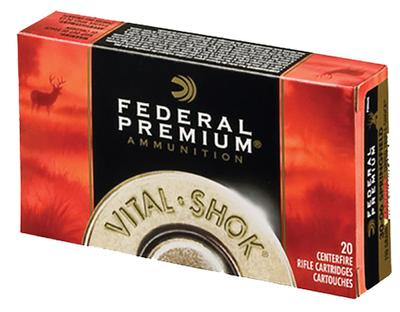 7MM-08 REM VITAL-SHOK 140GR NOSLER PART.