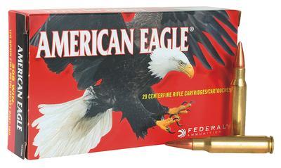 223REM AMERICAN EAGLE 62GR FMJ BT