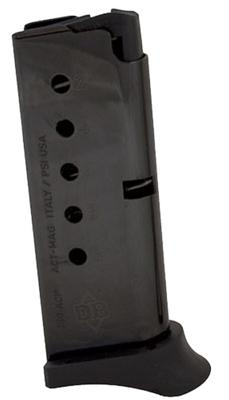 380AC380ACP DB380 6 RND MAG W/FINGER EXT