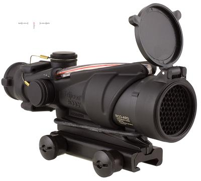 4X32 ACOG ILLUMINATED RED CHEVRON