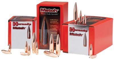 6MM MATCH 105 GRAIN BTHP BULLETS