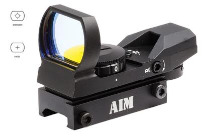 1X24X34 RED DOT REFLEX SIGHT 3 MOA BLACK