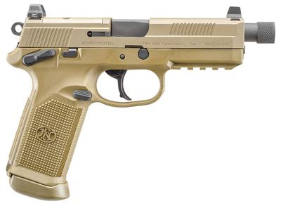 45ACP FNX-45 FDE THREADED BARREL
