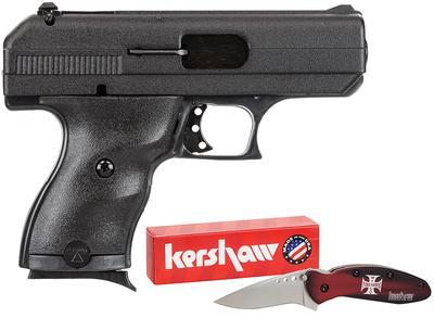 9MM C9 3.5` BBL W/KNIFE  HARD CASE