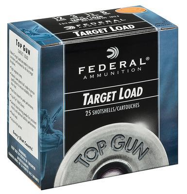12GA TOP GUN 1OZ 23/4` #8 FULL CASE
