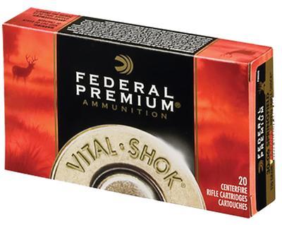 338 FEDERAL VITAL-SHOK 200GR TROPHY COPPER