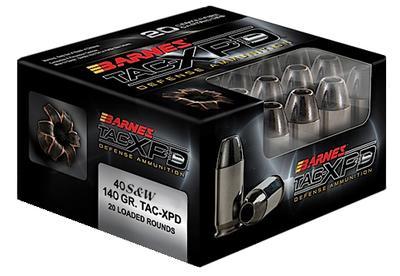 40SW TAC-XPD 140 GRAIN DEFENSE