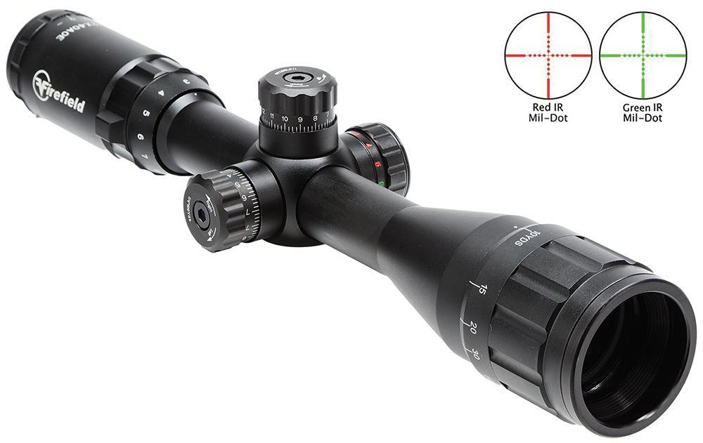 3- 12x40 Ao Tactical Rifle Mildot