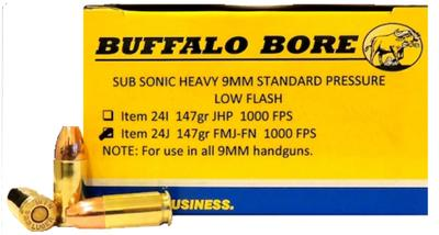 9MM SUBSONIC 147GR FMJ