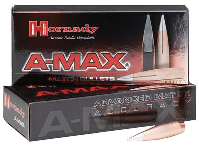 30CAL A-MAX 168 GRAIN BULLETS 100 CNT