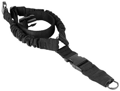 SINGLE POINT TACTICAL BUNGEE SLING BLACK