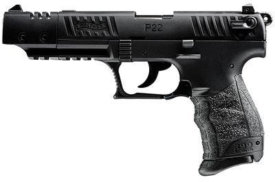 22LR P22 TARGET 5` BBL BLACK