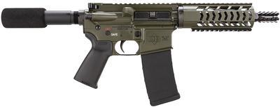 5.56MM DB15 AR PISTOL 10.5` BBL OD GRN