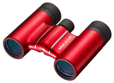 8X21 ACULON T01 RED BINOCULAR