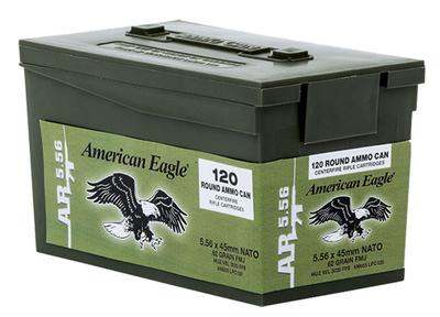 5.56MM XM855 AM-EAGLE 62GR FMJ 600RNDS