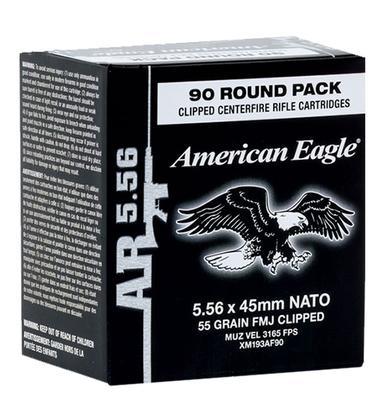 5.56MM AMERICAN-EAGLE 55GR FMJ 450RNDS