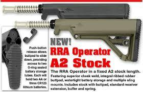 OPERATOR A2 STOCK KIT BLACK