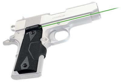 1911 COMPACT LASERGRIPS GREEN LASER