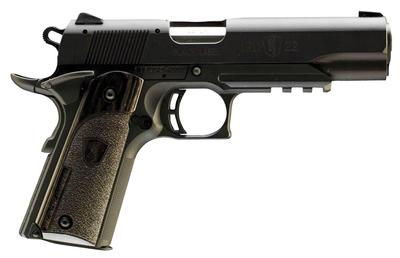 22LR 1911-22 BLK LABEL W/RAIL 4.25`