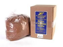 BRASS CLEANING MEDIA WALNUT 7LBS BOXED