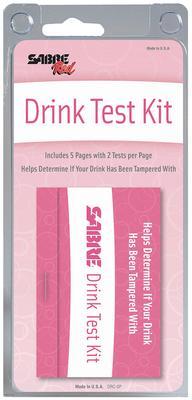 DATE RAPE DRUG TEST 5 PACK