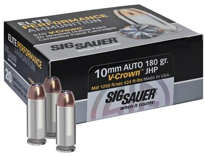 10MM V-CROWN 180 GRAIN JHP