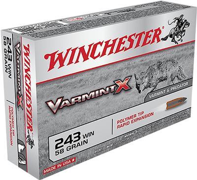 243WIN VARMINT-X 58 GRAIN