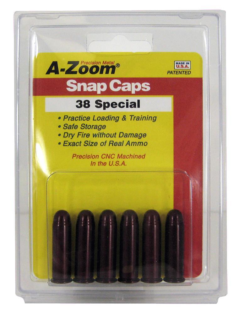 38 Special Snap Caps 6pk