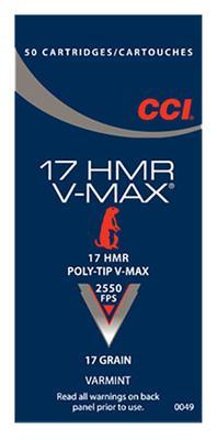 17HMR 17 GRAIN V-MAX BOX