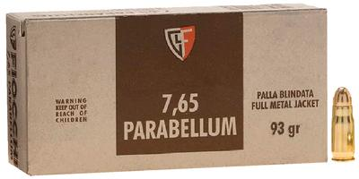 30 LUGER 7.65 PARABELLUM 93 GR