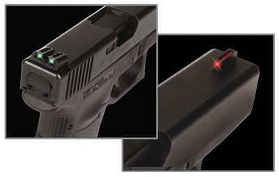 BRITE SIGHT GLOCK LOW GRN/RED