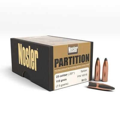 25CAL PARTITION 115 GRAIN