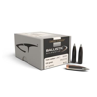 7MM BALLISTIC SILVERTIP 150 GRAIN
