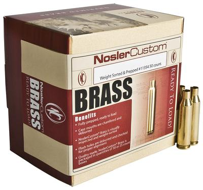 7MM STW UNPRIMED BRASS 25CNT