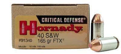 40S+W CRITICAL DEFENSE FTX 165 GRAIN