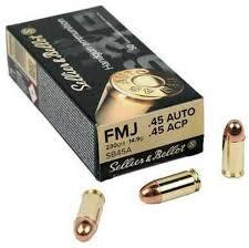 45ACP 230GR FMJ