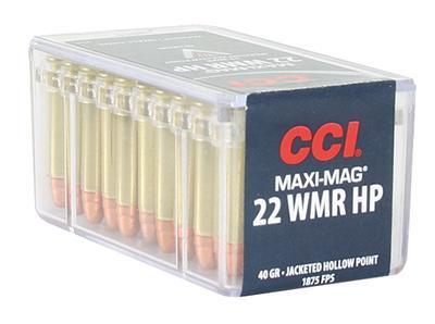 22 WMR MAXI-MAG HP 40 GRAIN