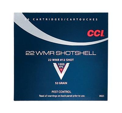 22 WMR MAXI-MAG SHOT SHELLS