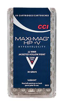 22 MAG MAXI MAG =V HP 30 GRAIN