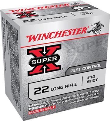 22LR SUPER-X #12 SHOTSHELLS