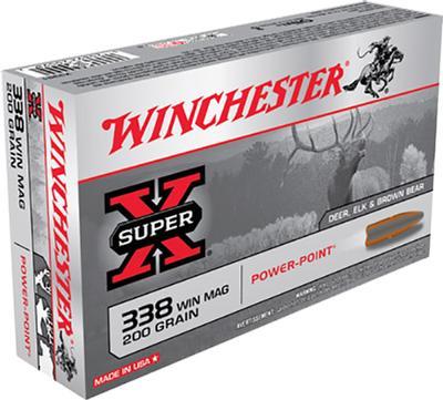 338 WIN MAG SUPER-X 200 GRAIN