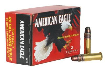 22LR AMERICAN EAGLE 40 GRAIN