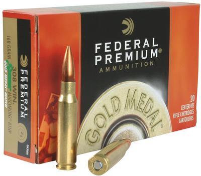 308 WIN GOLD MEDAL 168 GRAIN